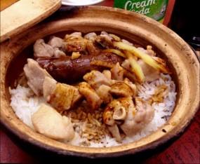 臘腸排骨煲仔飯 - 四季煲仔飯 in Yau Ma Tei