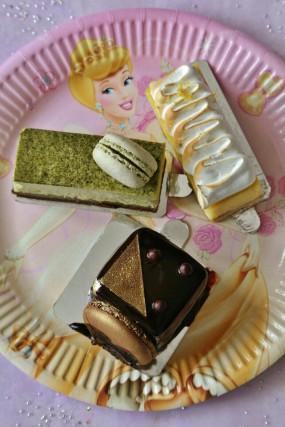 chocolate charlotte,lemon tart,green tea mousse cake - Paul Lafayet in Tsim Sha Tsui