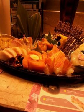 Sashimi platter - Monster Sushi in Mong Kok