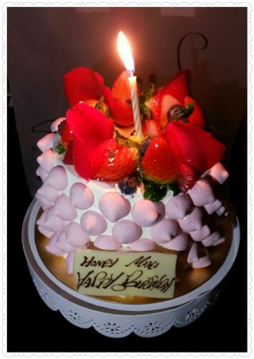 Birthday Cake - Smile Yogurt & Dessert Bar in Tsim Sha Tsui