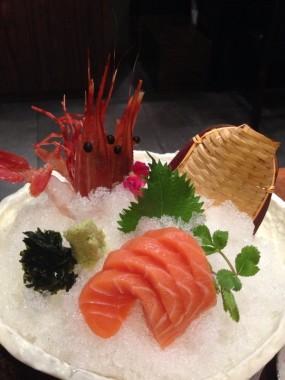 三文魚刺身 - Wako Japanese Yakiniku Restaurant in Causeway Bay