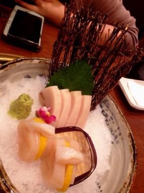劍魚腩刺身+北海道帶子刺身 - Wako Japanese Yakiniku Restaurant in Causeway Bay