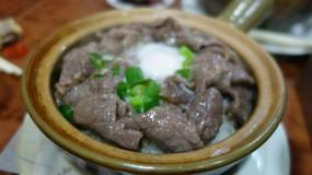 窩蛋牛肉煲仔飯 - 西環的坤記煲仔小菜