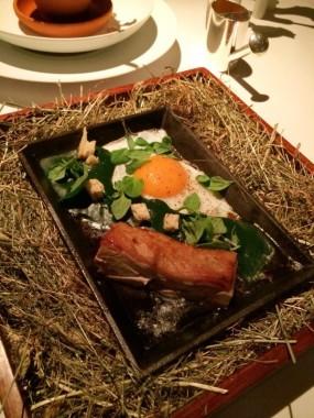 Bacon & Egg - Mandarin Grill + Bar in Central