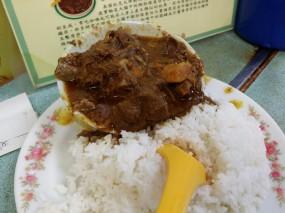 咖哩羊腩飯 - Wai Kee in Wan Chai