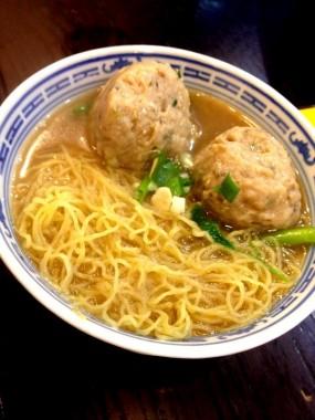 鮮鯪魚球麵 - Tsim Chai Kee Noodle in Central