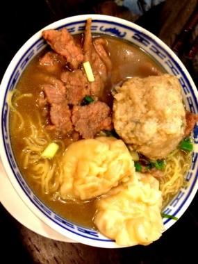 三寶撈麵 - Tsim Chai Kee Noodle in Central