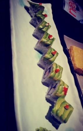 牛油果sushi - The Mon in Causeway Bay