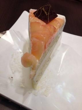 蜜味白桃蛋糕 - Yumemiya in Tai Koo