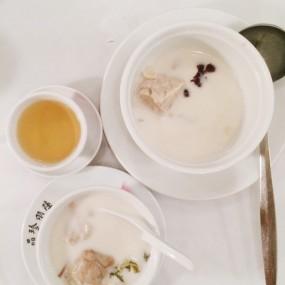 白肺湯 - Luk Yu Tea House in Central