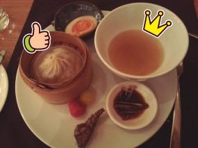 小籠湯包,虫草花響螺湯,話梅車厘茄,薰魚 - Cafe TOO in Admiralty