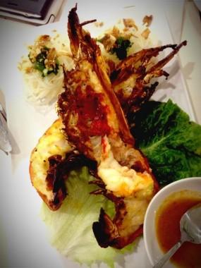 Grilled prawn - Lo Chiu Vietnamese Restaurant in Tsim Sha Tsui