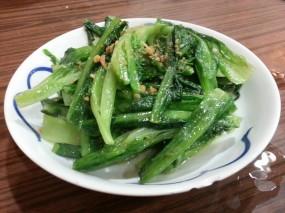 馬拉盞炒油墨菜 - 西環的坤記煲仔小菜