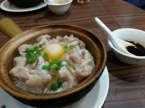 窩蛋肉片煲仔飯 - 西環的坤記煲仔小菜