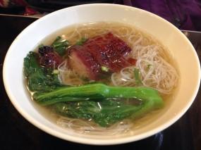 叉燒米粉 - 喜喜燒臘茶餐廳 in Wan Chai