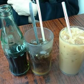 凍檸茶,凍奶茶 - Wai Kee Noodle Cafe in Sham Shui Po