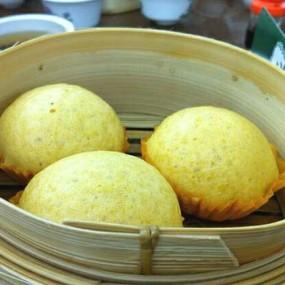 奶皇包 - Lin Heung Tea House in Central