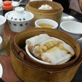 粉卷 & 义燒包 - Lin Heung Tea House in Central