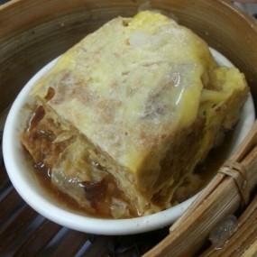 腐皮蒸肉餅 - Lin Heung Tea House in Central