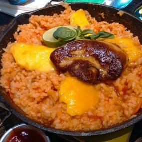 鴨肝西班牙飯 - Savoye Bistro (SB) in Tin Hau