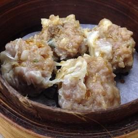 乾蒸牛肉燒賣 - Lin Heung Tea House in Central