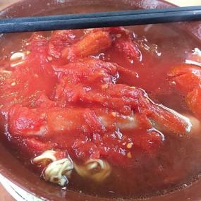 蕃茄腸麵 - Sing Heung Yuen in Central