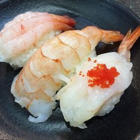 Shrimp sushi - Mi-Ne Sushi in Sha Tin