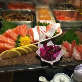 三文魚甜蝦刺身 - Sushi Tokumi in Tsim Sha Tsui