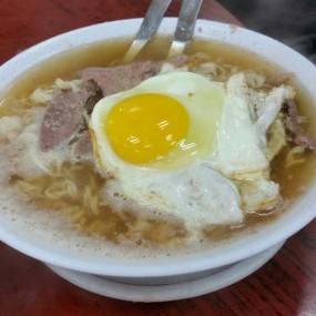 豬潤麵加蛋 - Wai Kee Noodle Cafe in Sham Shui Po