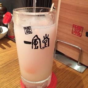 茘枝乳酸梳打 - Ippudo HK in Tsim Sha Tsui
