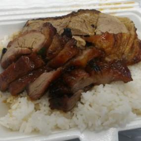 叉燒燒鴨飯 - Joy Hing Roasted Meat in Wan Chai