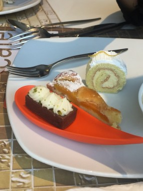 Dessert - Café on the PARK in Tsim Sha Tsui