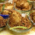 炸蒜香脆鬆化,蟹拑鮮甜彈牙