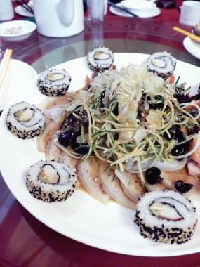 海珊瑚千色併盤 - 灣仔的貴德宮皇廷素宴