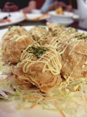 炸豆腐 - 灣仔的貴德宮皇廷素宴