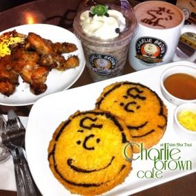 下午茶:法式多士及雞翼 - 尖沙咀的查理布朗咖啡專門店
