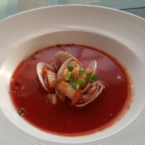 紫蘇蜆肉番茄湯 - 鑽石山的天際軒