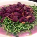 紫薯既甜同紫苗好夾