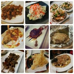 炸雞軟骨,蟹子沙律,扇貝,芝士餃子,eel,菇,鴨舌,炸蝦,煎大餅 - 西環的BBQ美食店
