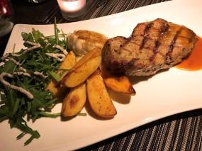 炭燒肉眼扒 (11oz) - 粉嶺的柏斯意大利餐廳